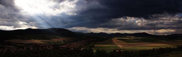 Panorámafotó – Hercegkút, Gombos Hegy - 2008. 07. 18