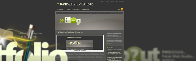 PWSDesign Wordpress Theme v2
