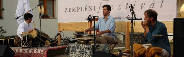 Triginta Percussion – Zempléni Fesztivál - PWSDesign