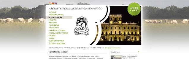 Rábensteiner Apartman-Panzió - PWSDesign