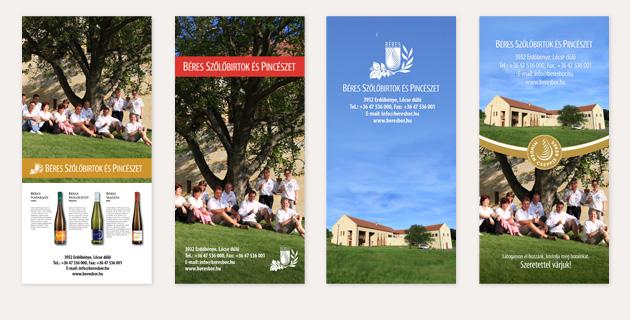 Béres Winery ad printed in Tokaj Guide - PWSDesign