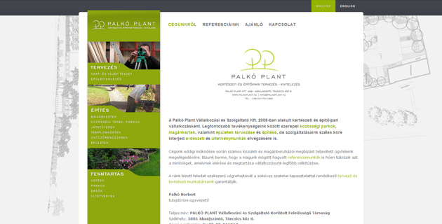 Palkoplant WordPress alapokon - PWSDesign