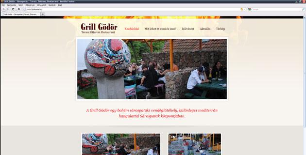 Elindult a Grill Gödör honlapja