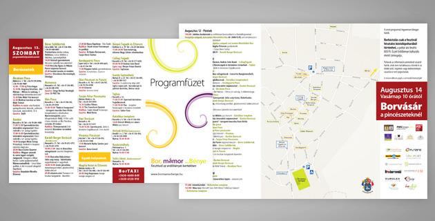 Wine, shine ...Bénye 2011 flyer